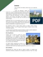 Arte y Cultura de Guatemala