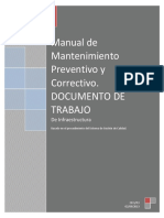 Manual de Mantenimiento Preventivo y Correctivo 2016
