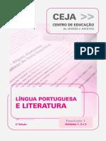 Ceja Lingua Portuguesa Unidade 1