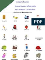 Definite Articles - Articles Définis