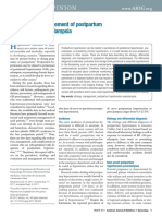 Management Postpartum Hyperten Preeclampsia