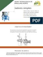 Mezcladores Simples