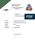 Inform de Albañilería