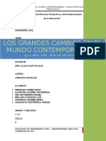 Fic II-los Grandes Cambios en El Mundo Contemporáneo y Nuevo Enfoque Pedagógico