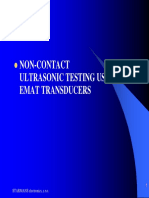 EMAT - Non-Contact Testing