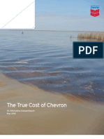 2010 The True Cost of Chevron- Alternative Annual Report