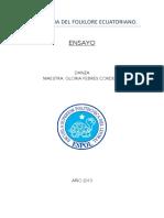 II Antologia Del Folklore Ecuatoriano
