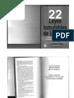 Veintidos Leyes Inmutables de La Marca Book
