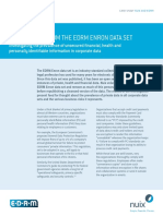 Case Study Nuix EDRM Enron Data Set