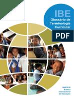 Glossário de Termos Curriculares Unesco