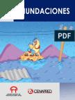 folleto sobre inundaciones