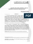 Retos y Encrujadas del Estado Plurinacional en Bolivia
