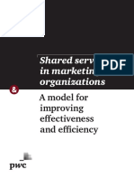 Shared Services in Marketing Organizations