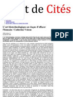 CREDE / Catherine Voison / Article Droit de Cités