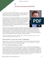 Quentin Skinner - Revista de História