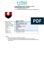 Kartu Ujian PKSA 2016