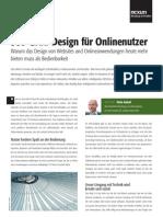 360-Grad-Design für Onlinenutzer