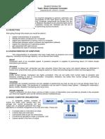 Student Handout 2 Basic Computer Concepts