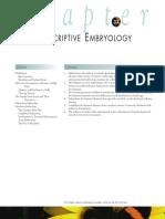 Chapter 33 - Descriptive Embryology