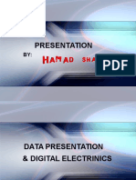 Data Resresentation by Hamad