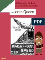Deccan Queen Facts – Mocomi Kids