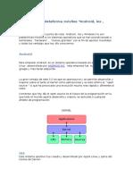 Comparación plataforma móviles