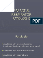 Patologie ap respirator