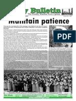 Friday Bulletin 385