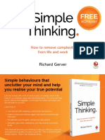 Simple Thinking Sample Chapter