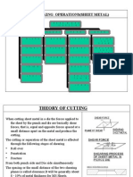 Press Working Operations Sheet Metal
