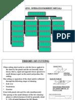 Press Working Operations Sheet Metal