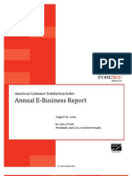 ACSI E-Business Report Aug09