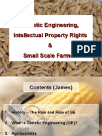 GMO and Intellectual Prop Rights