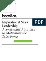 Inspire Sales Leadership