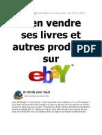 vendre des livres sur ebay