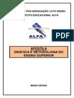 DIDÁTICA E METODOLOGIA DO ENSINO SUPERIOR.pdf