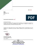 Cotizacion 1099 MRB LTDA