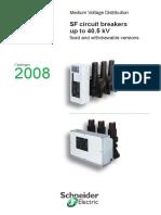 Catalog Sf Circuit Breakers Up to 40 5kv En