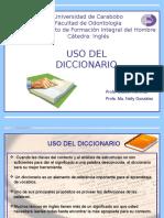 Presentación Uso Del Diccionario 2016 (2)