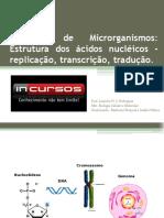 Genética de Microrganismos