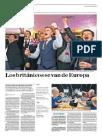 Los Británicos Se Van de Europa