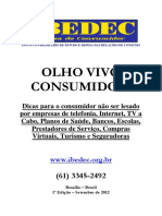 Manual Olho Vivo Consumidor - 2012 - Site 1