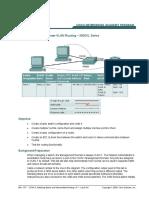 CCNA3_lab- Configuring Inter-VLAN Routing