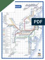 Sydney Cityrail Network Map