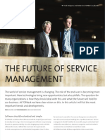 The future of service management