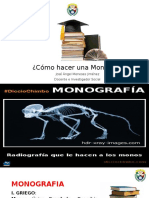 Clase 8 La Monografia