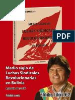 Agustin Barcelli - Medio Siglo de Luchas Sindicales Revolucionarias en Bolivia