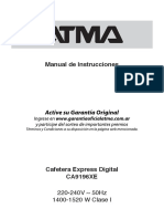 Manual Atma CA9196XE