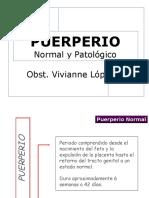 8va Clase Puerperio Normal y Patólogico
