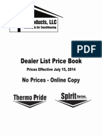 Thermo Products Dealer Price Book Online